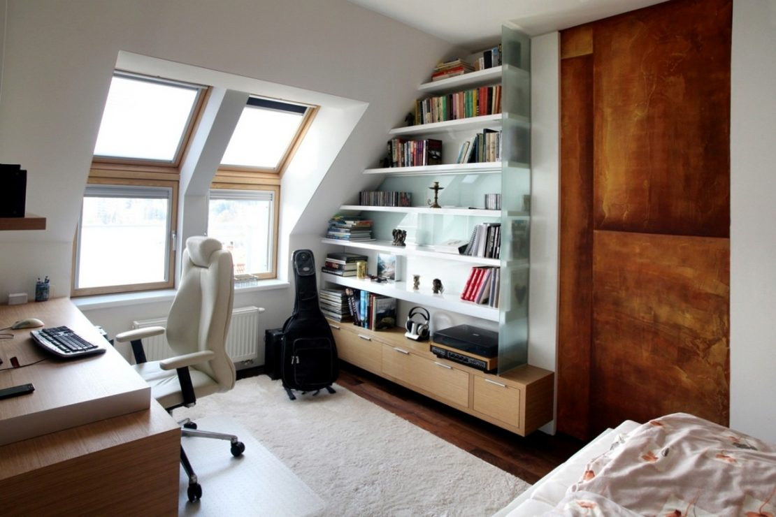 Small Home Office In Apartment