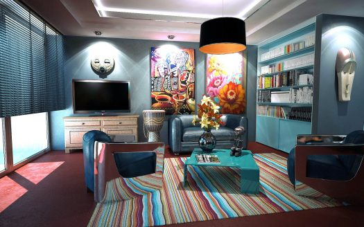 Decorate an Apartment to Look Like a Home