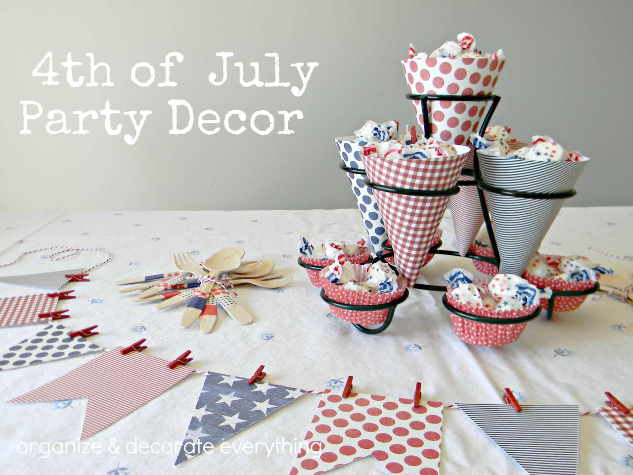 Celebrate the 4th Apartment Style