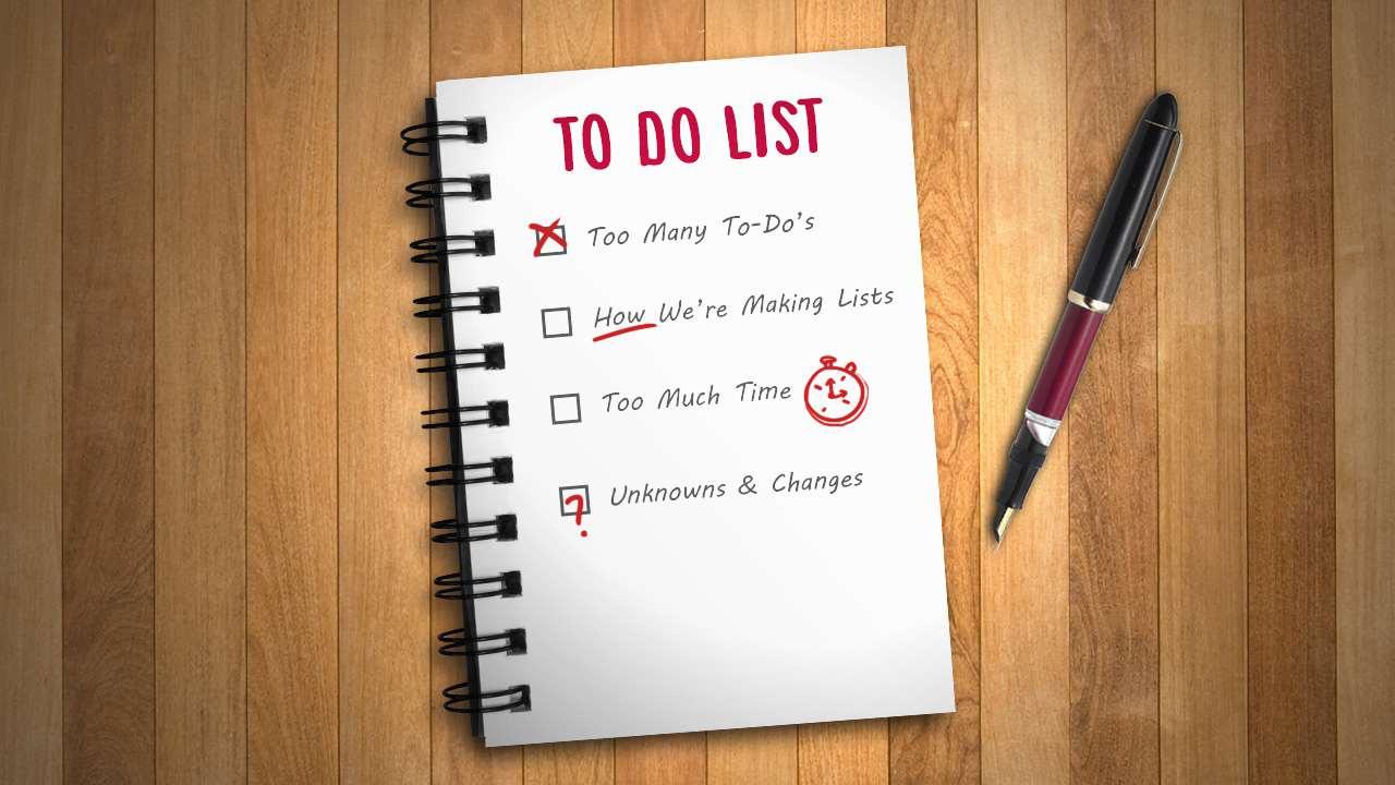 Ann Arbor Apartment To-Do List
