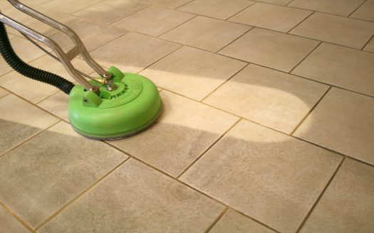 DIY Apartment Grout Cleaning